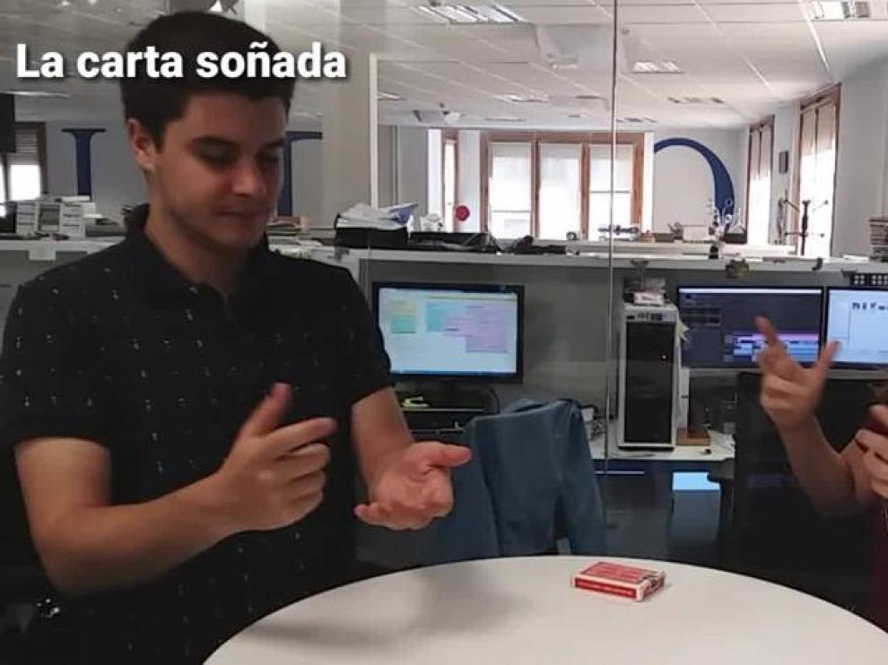 Magia con Beatriz Palacio: 'La carta soñada'