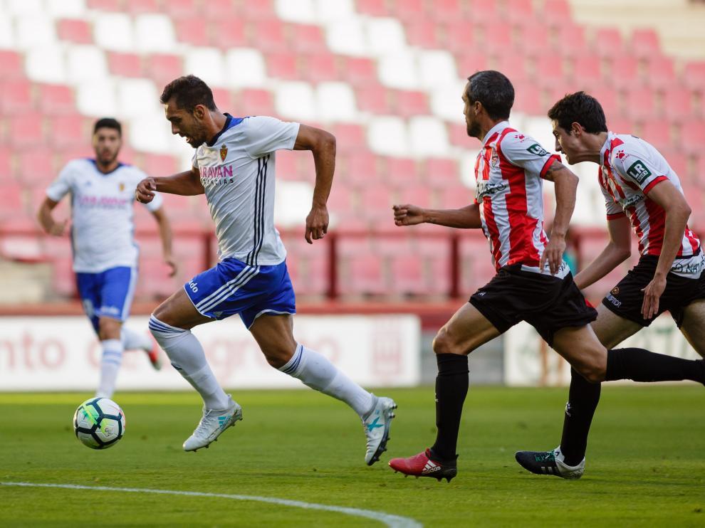 El Real Zaragoza ha empatado en Logroño