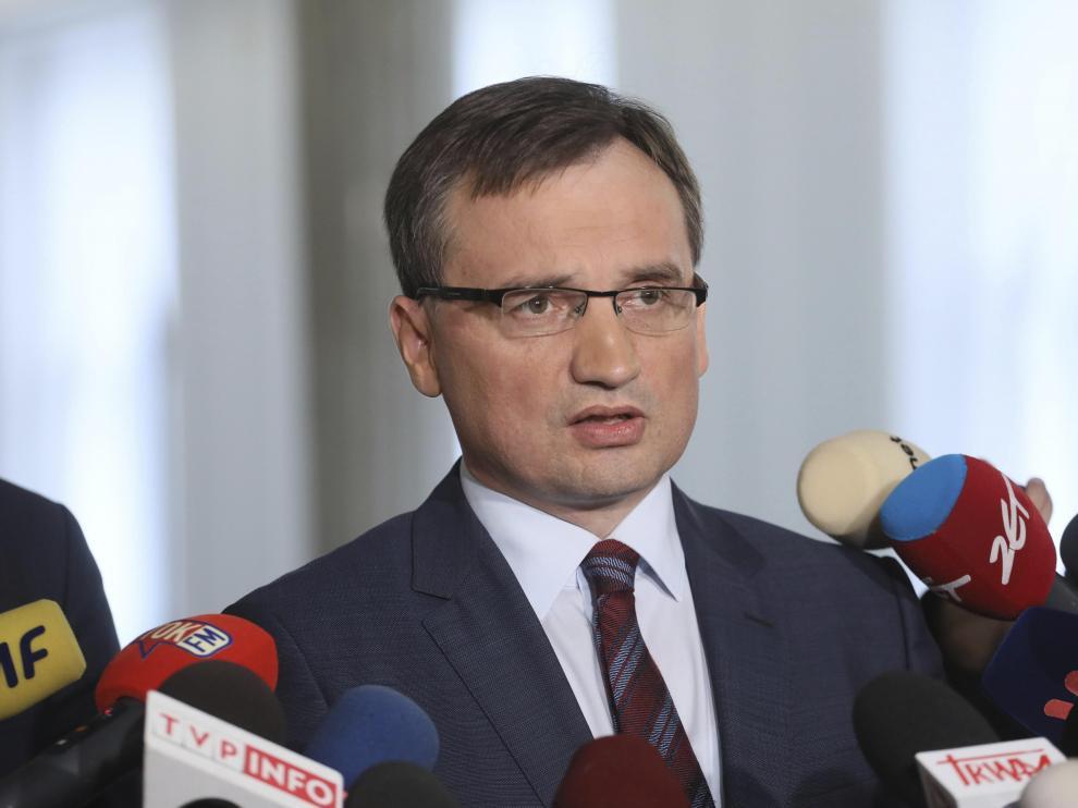 El ministro de Justicia polaco, Zbigniew Ziobro