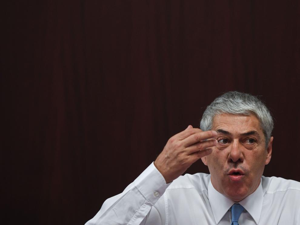 El exprimer ministro de Portugal, José Sócrates