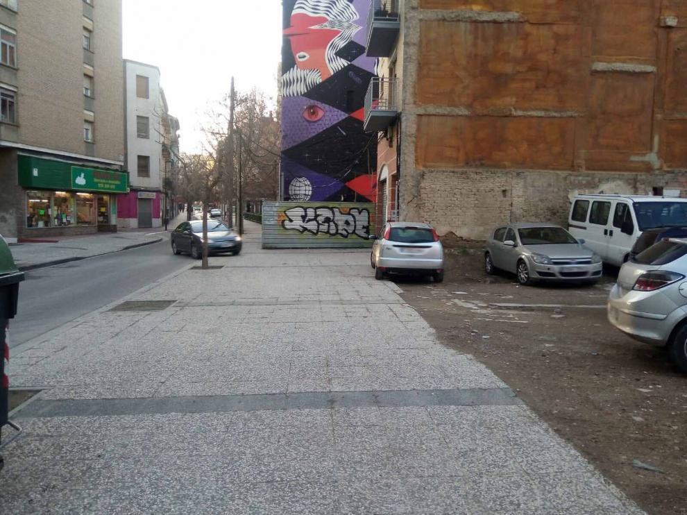 Imagen de archivo de un solar en el barrio de Jesús.