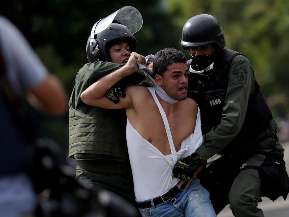 Huelga en Venezuela