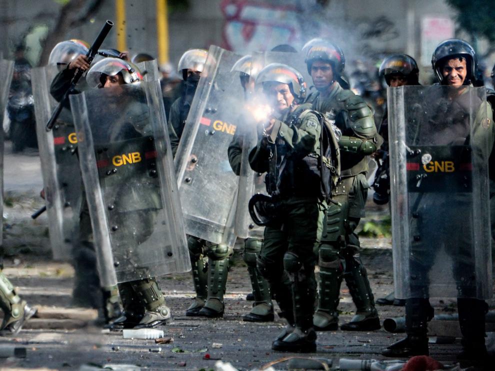 Huelga en Venezuela.