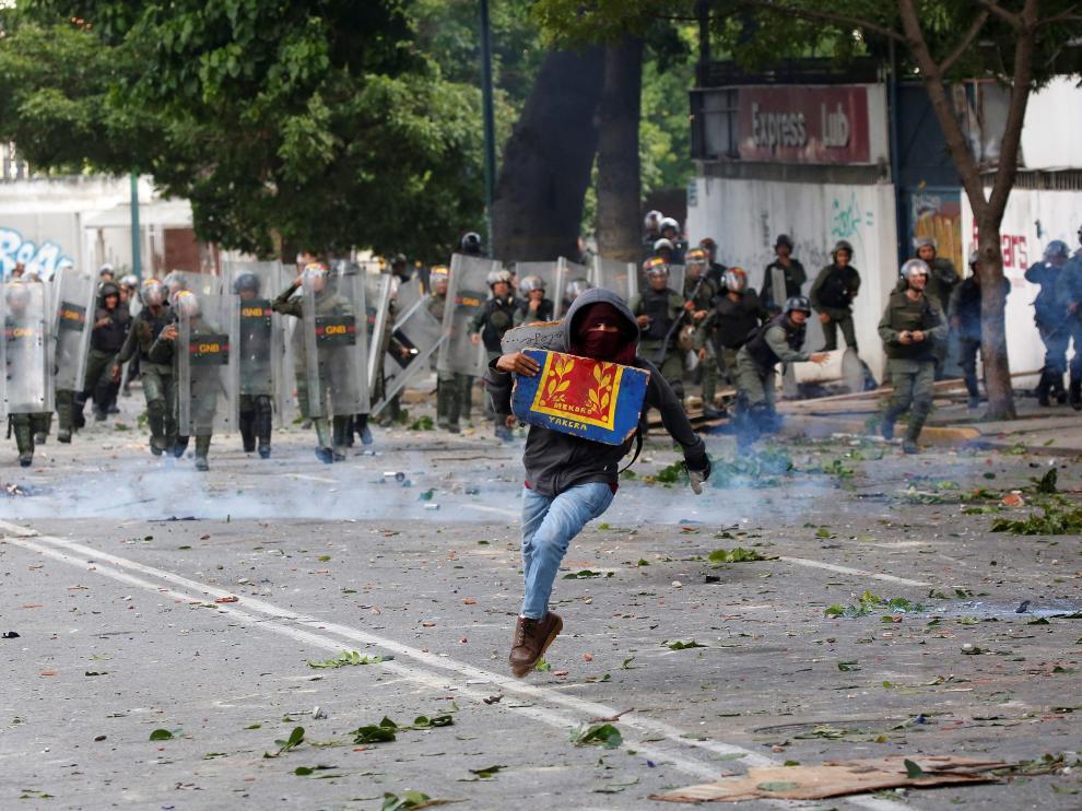 Las dos jornadas de paro intentan frenar las elecciones del domingo a la Asamblea Constituyente convocada por Nicolás Maduro.
