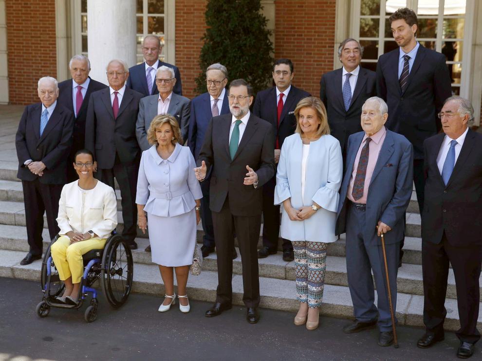 Teresa Perales y Amado Franco han recibido este reconocimiento a su trabajo