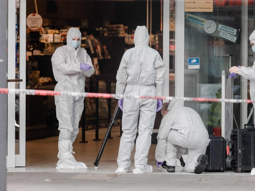Un muerto y tres heridos tras un ataque con cuchillo en Hamburgo