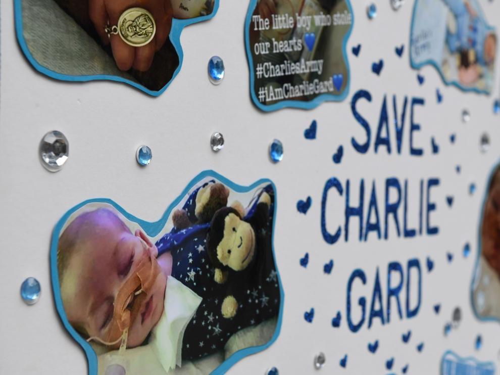 Imagen del bebé que falleció en un centro de cuidados paliativos