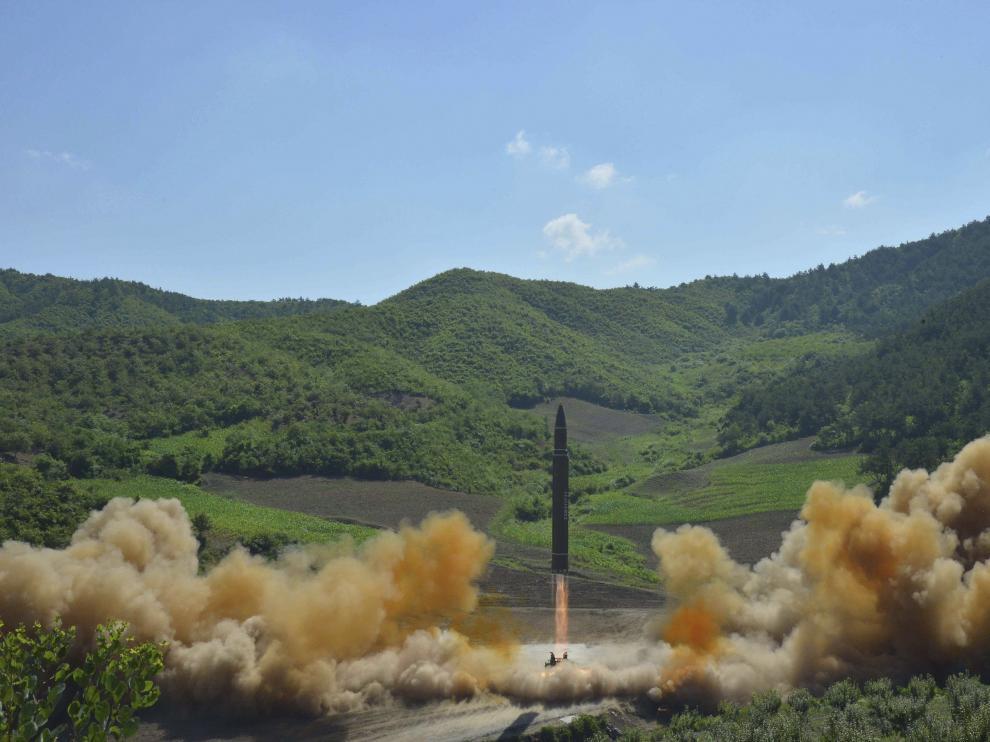 Corea del Norte ha realizado en los últimos meses varias pruebas con misiles.
