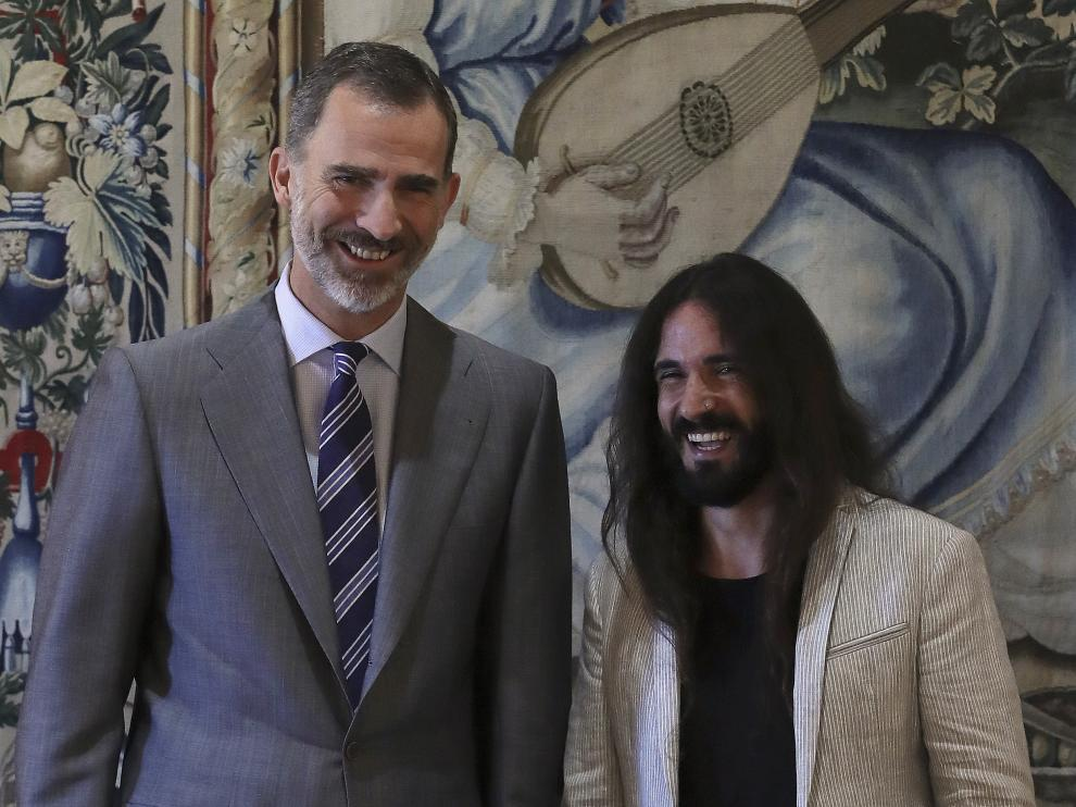 El Rey recibe al presidente balear