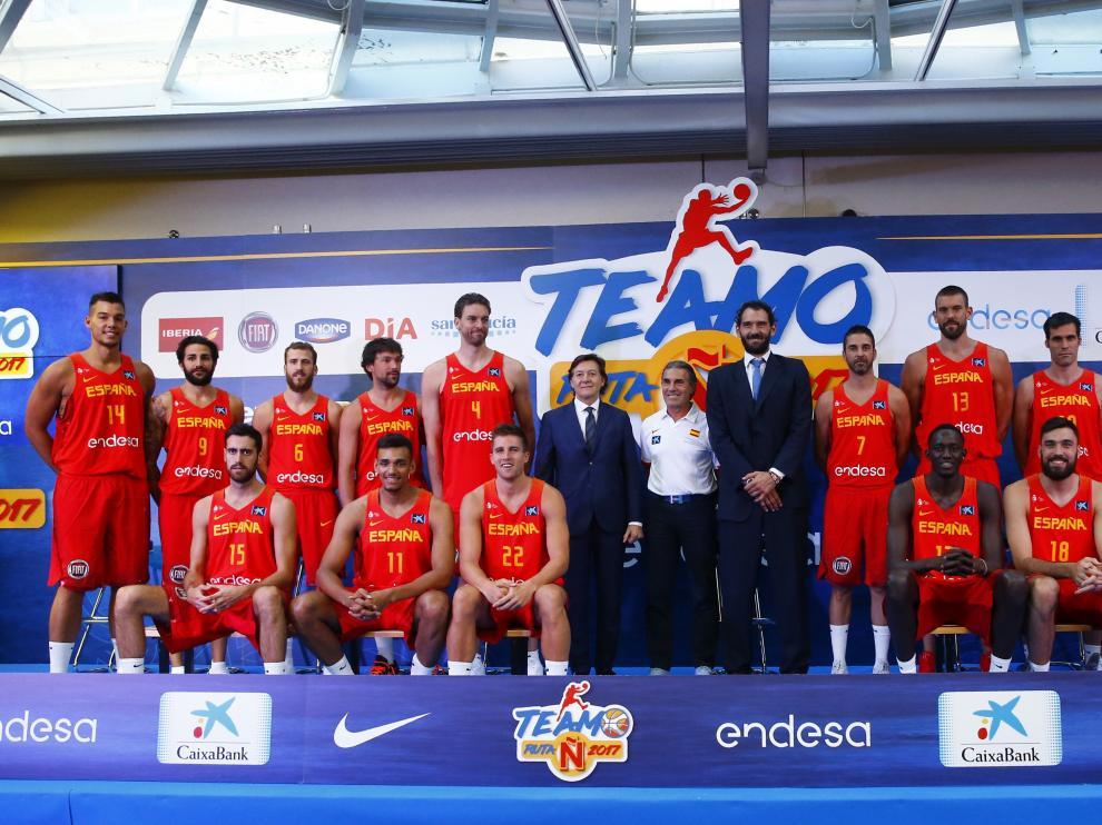 La selección española buscará el oro en el Eurobasket