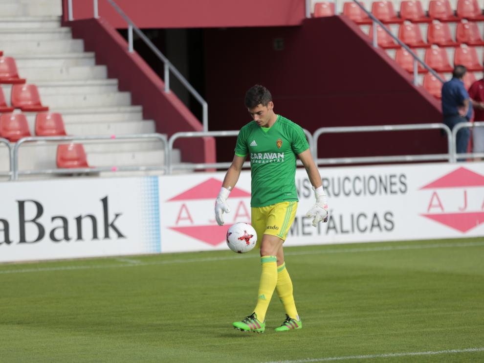 Pablo Alcolea, este sábado en Andiva.
