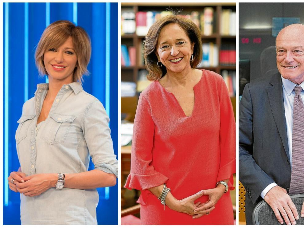 Susanna Griso, Ana Santos y Alain Rousset.