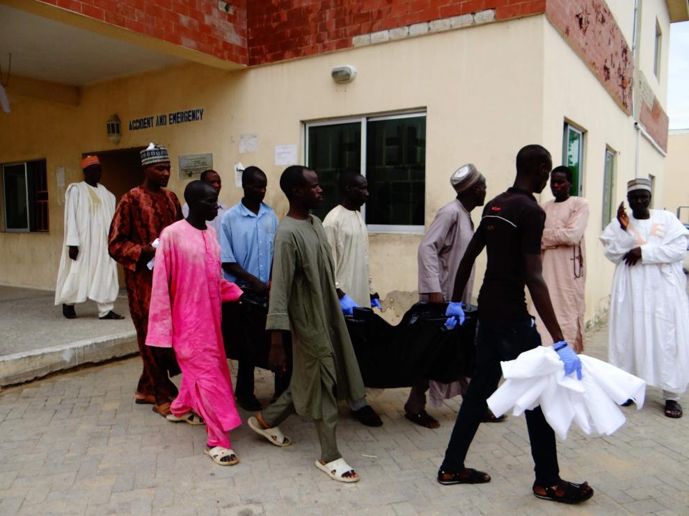 Catorce personas han muerto en un atentado suicida en el noreste de Nigeria.