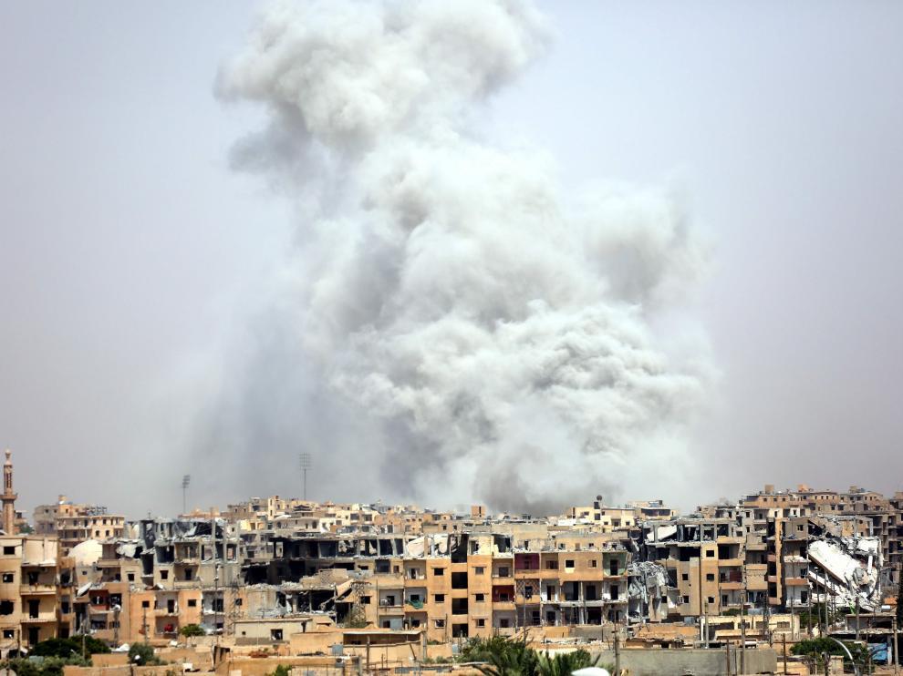 Quince miembros de una familia han fallecido en un ataque de la coalición en Siria.