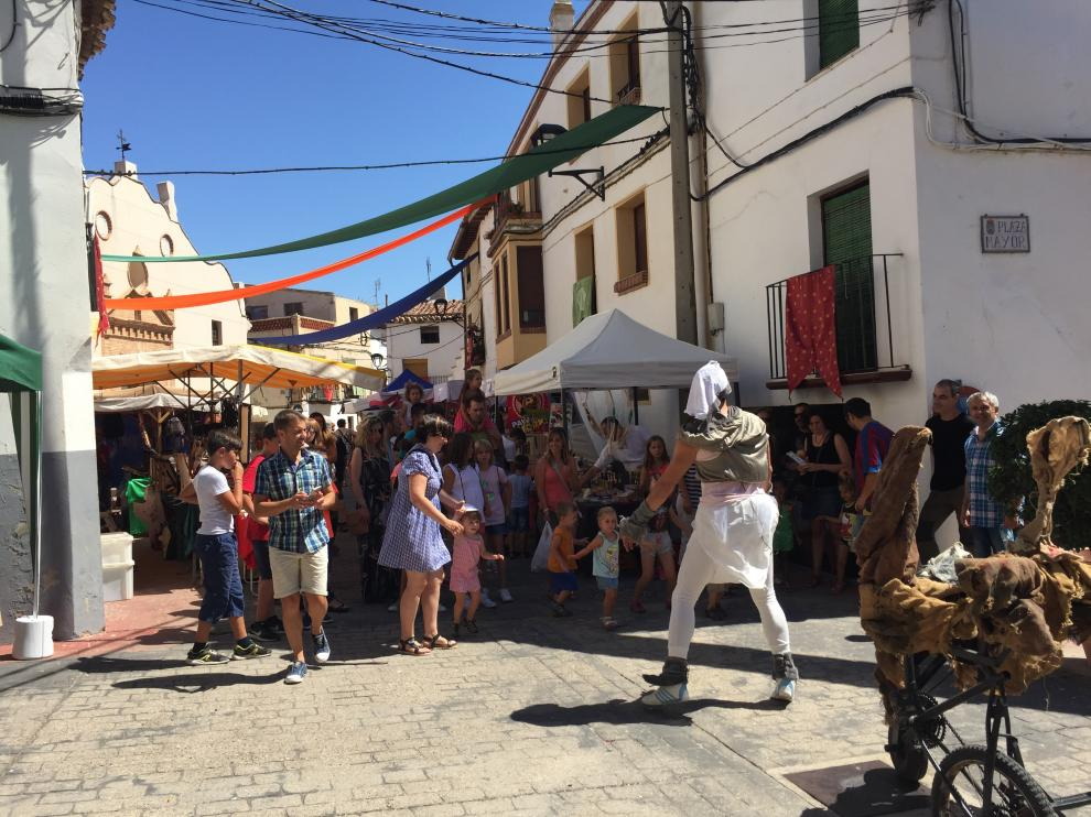 Los talleres y exhibiciones atrajeron a numeroso público hasta Torrellas.