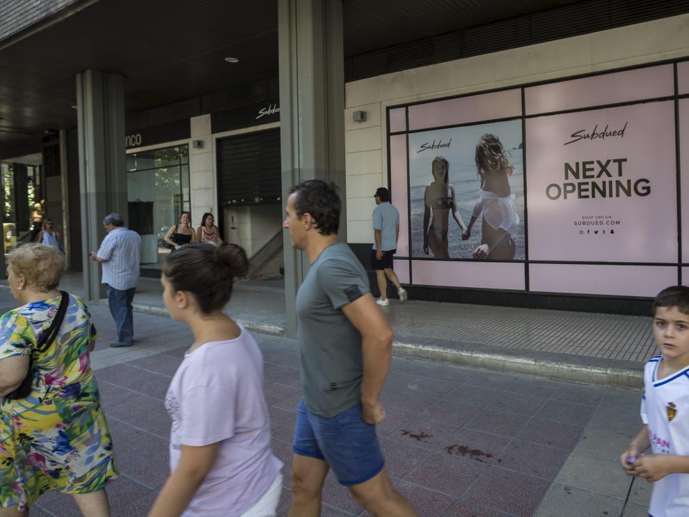 Apertura de una tienda Subdued en Zaragoza.