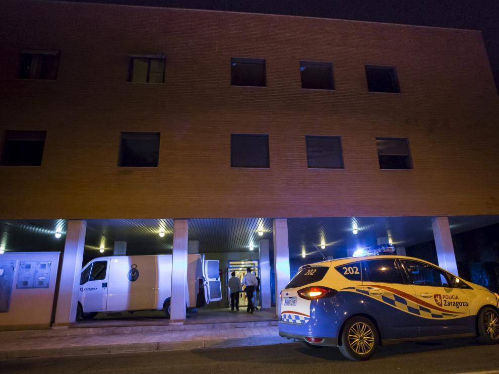 La vivienda se encontraba en la segunda planta del número 92 de la calle de Antonio Leyva, en Zaragoza.