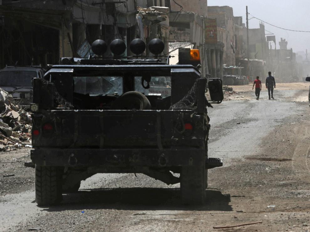 Los combates prosiguen en Siria. Imagen de archivo