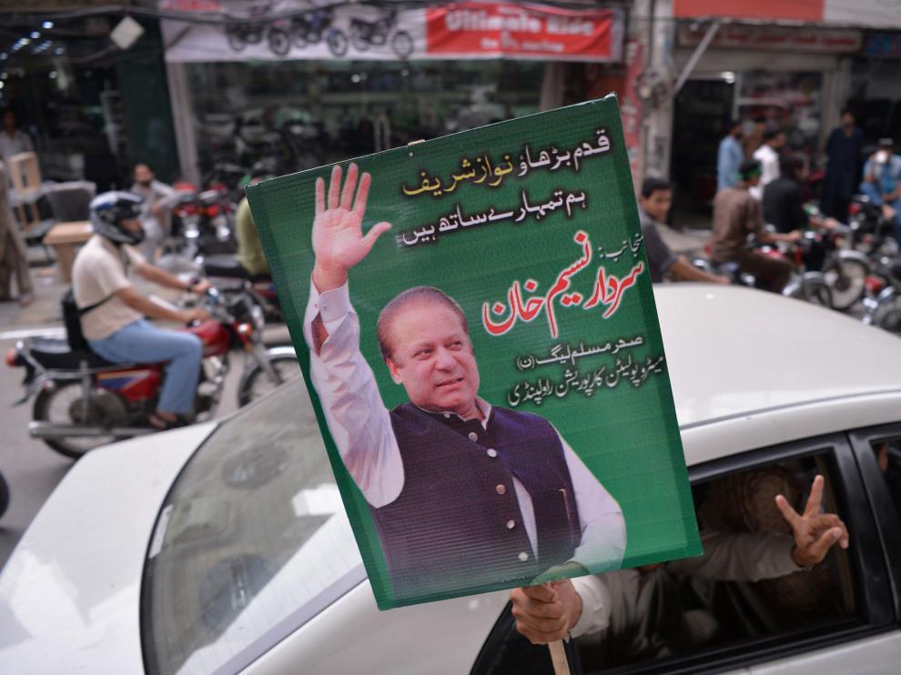 Sharif dimitió el pasado viernes en Pakistán.