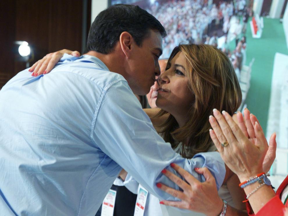 Pedro Sánchez ha asistido al acto de clausura del decimotercer congreso del PSOE andaluz.