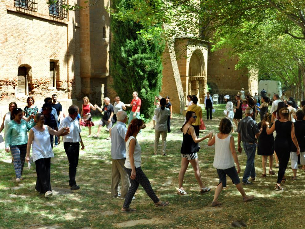 El monasterio de Casbas ha sido escenario de los últimos actos del ciclo.