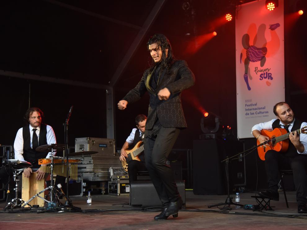 Con el espectáculo flamenco de José María Jiménez Grupo, se bajó el telón, este domingo por la tarde.