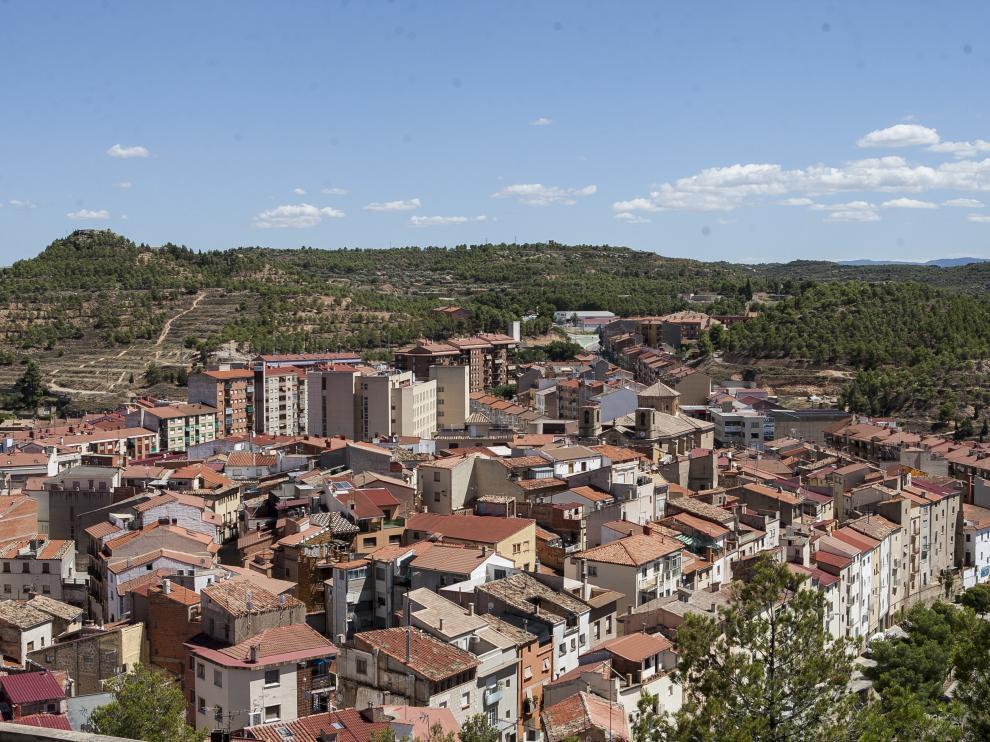 Vista general de Alcañiz