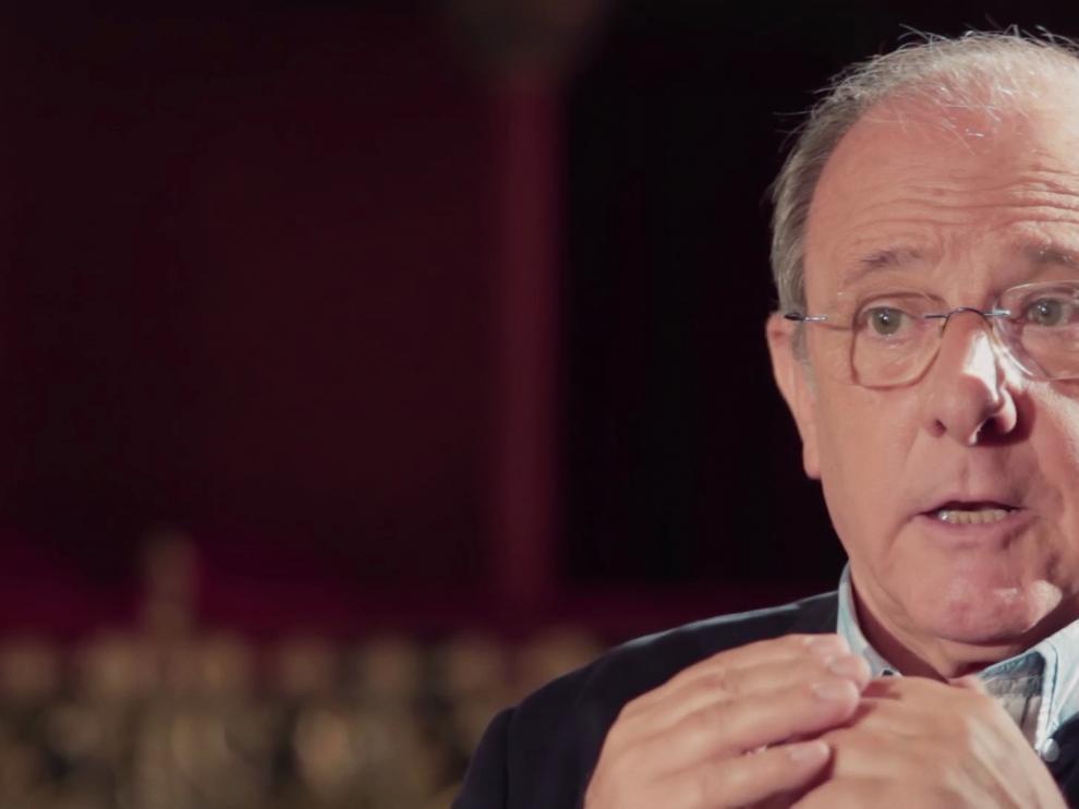 Emilio Gutiérrez Caba, en el documental sobre Paco Martínez Soria.