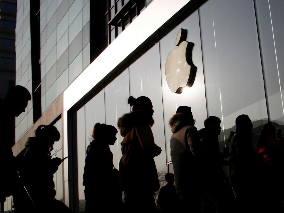 """El consejero delegado de la tecnológica, Tim Cook, señaló que Apple está en su """"tercer trimestre consecutivo de crecimiento acelerado"""" ."""