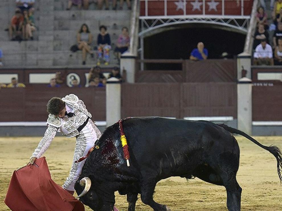 Isiegas, en la plaza de toros de las Ventas.