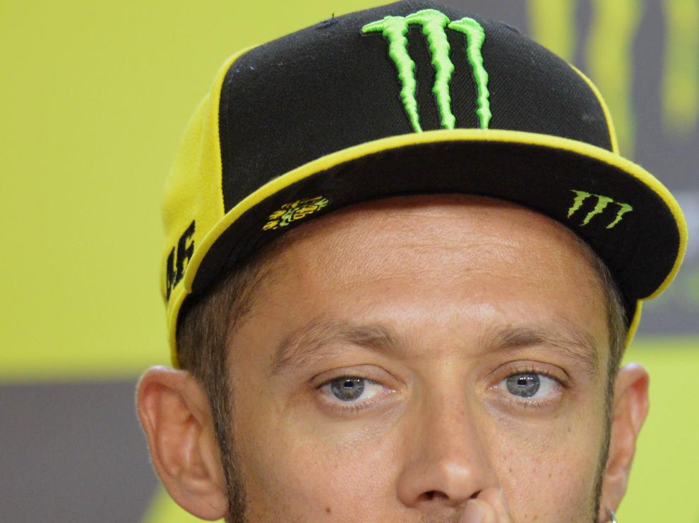 ValentinoRossi, muy triste ayer en Brno.