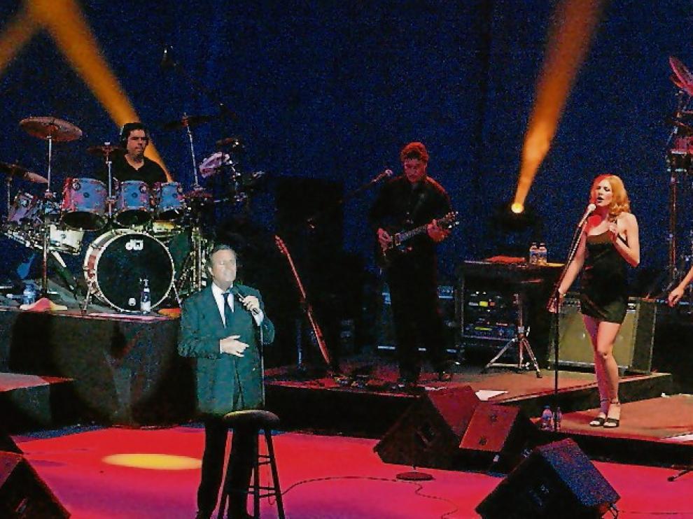 Concierto de Julio Iglesias en La Muela.