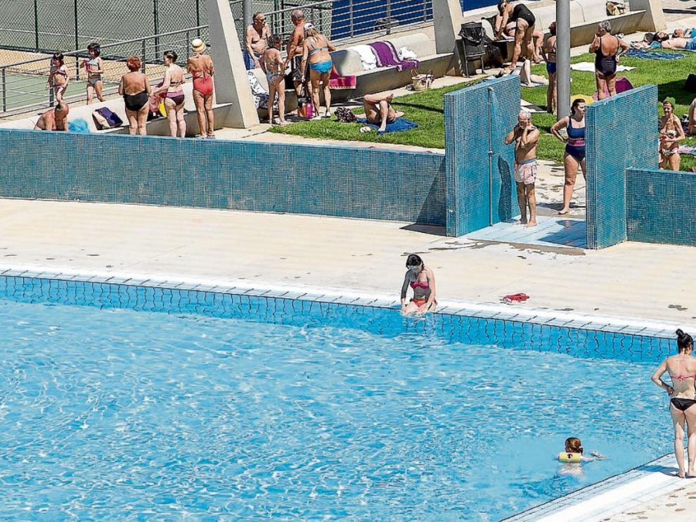 La piscina municipal Alberto Maestro