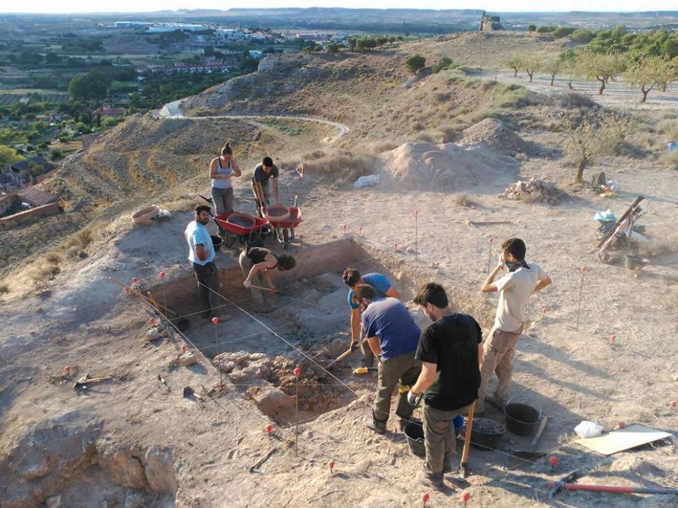 La campaña se realiza en el cerro del Esquilar, un paraje considerado bien de interés cultural.