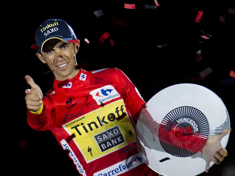 Imagen de archivo de Alberto Contador.
