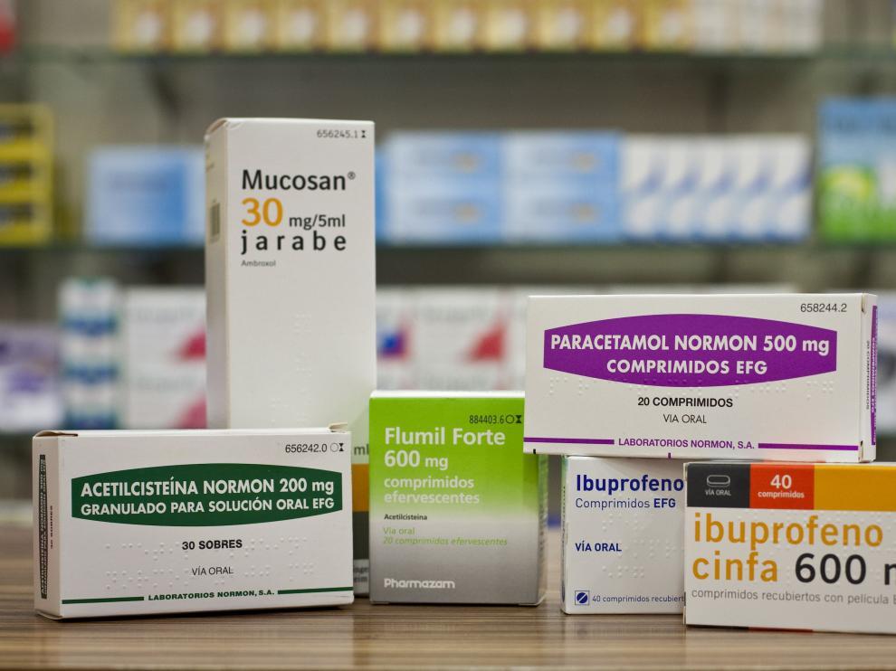 Un grupo de medicamentos prescritos habitualmente para curar los catarros.