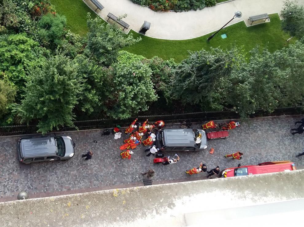 Un coche atropella a varios militares del dispositivo antiterrorista francés