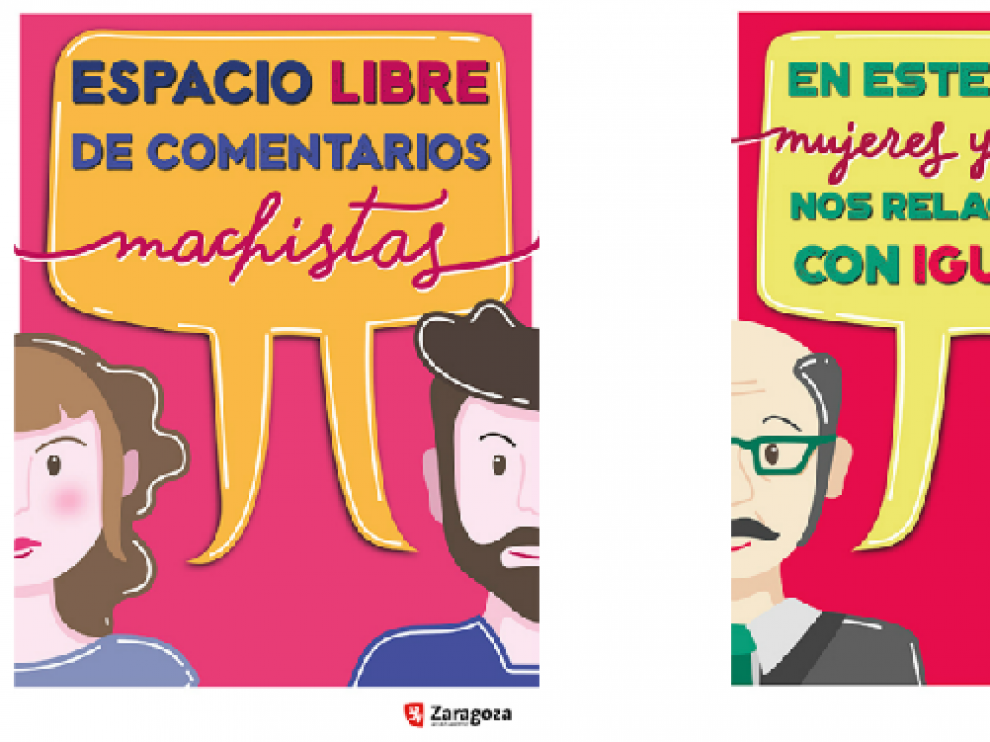 Campaña de sensibilización. Se han editado 900 carteles para fomentar las relaciones de igualdad en el puesto de trabajo.
