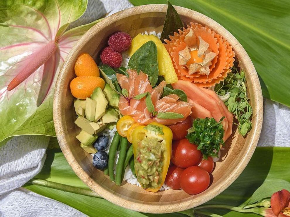 Además de ser estéticos visualmente, los 'poke bowls' son muy saludables.