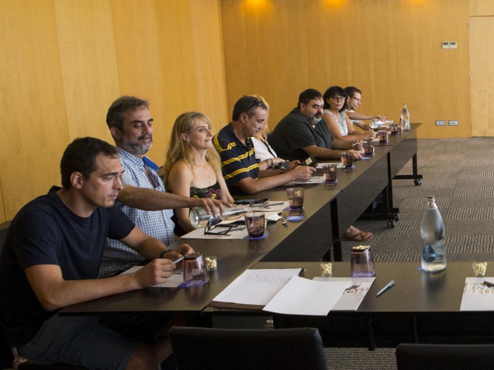 Reunión celebrada este miércoles entre la empresa y el comité