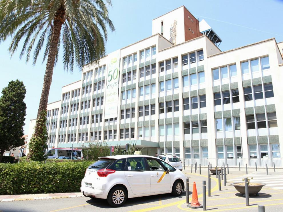Hospital de Tarragona en el que se encuentran ingresados.