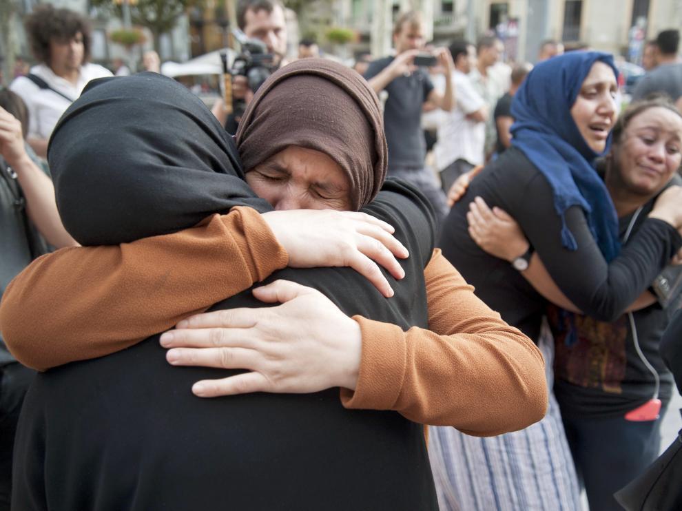 La madre de Younes Abouyaaqoub pide que su hijo se entregue