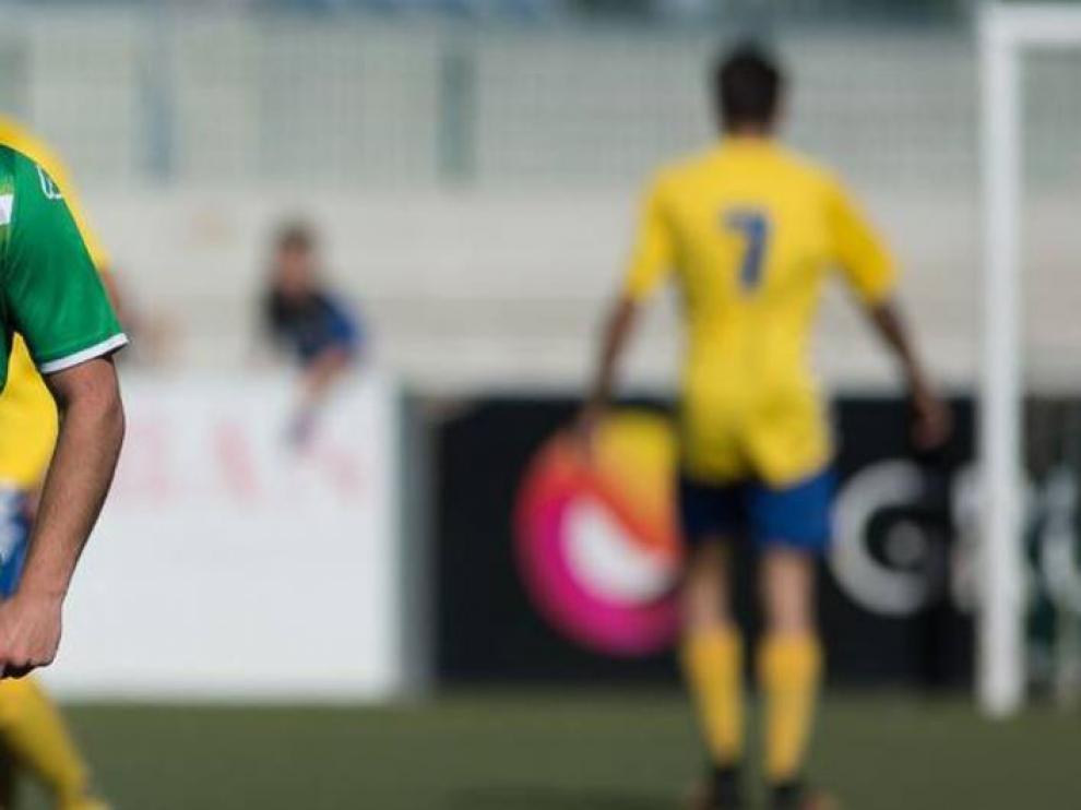 Imagen del Cuarte-Robres, uno de los partidos del año pasado puestos en tela de juicio por la denuncia que originó en mayo el caso del posible fraude por apuestas en el fútbol regional aragonés.