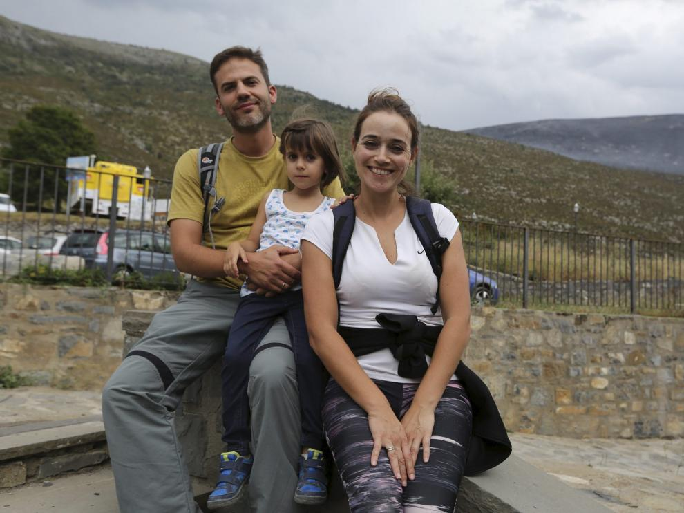 El matrimonio cordobés alojado en Nerín al que también pilló el terremoto.