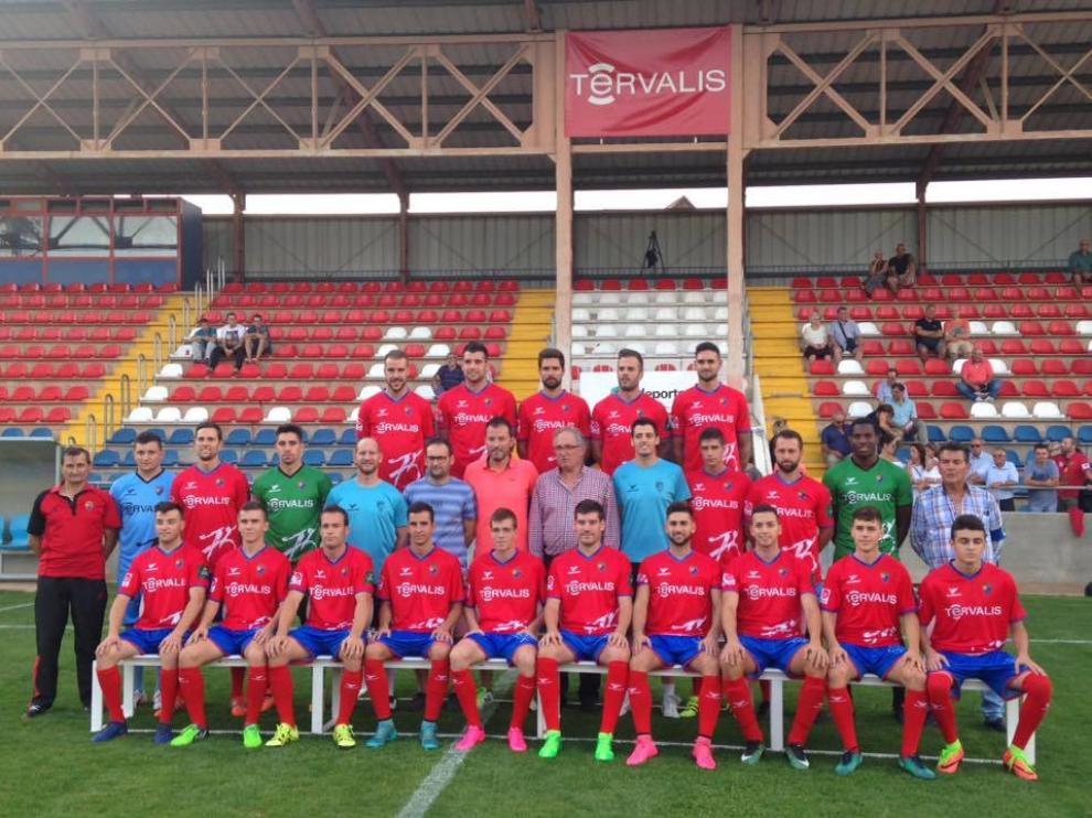 Plantilla actual del CD Teruel 2017-2018