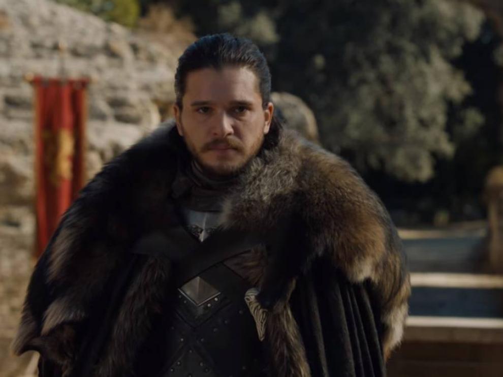 Jon Snow es uno de los protagonistas de la serie.