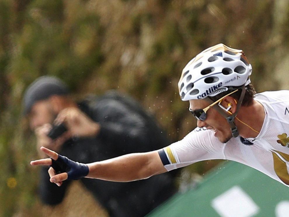 Denifl se proclama vencedor de la decimoséptima etapa de la Vuelta a España