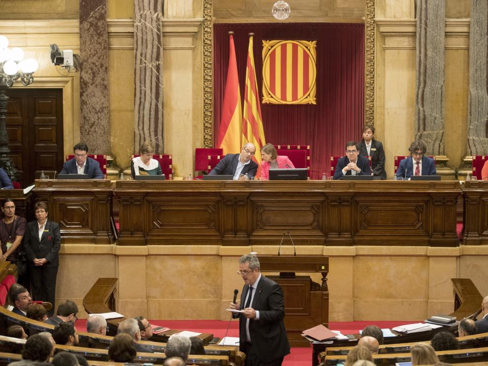 Parlament de Cataluña este miércoles