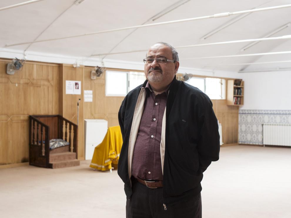 Fawas Nahhas, líder de la comunidad islámica en Aragón.