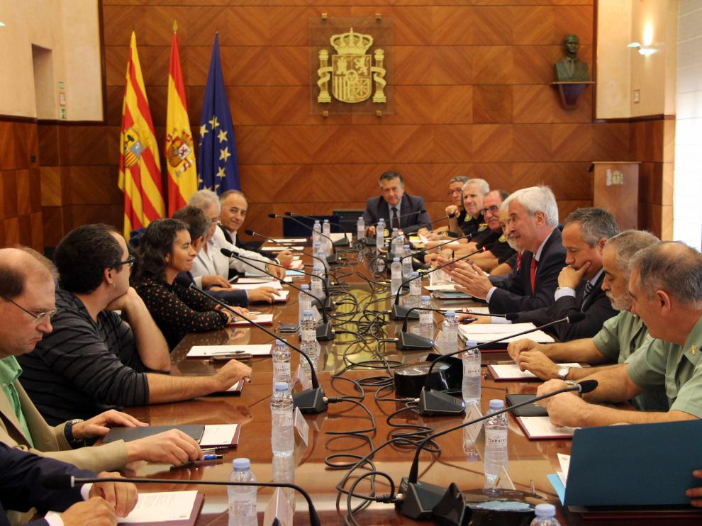 Reunión de la Junta de Seguridad este martes en la Delegación del Gobierno de Zaragoza